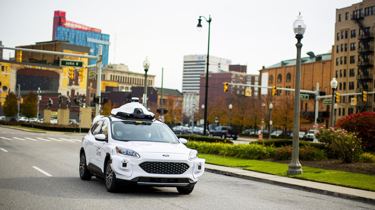 Argo Lidar to enable safe self-driving in cities